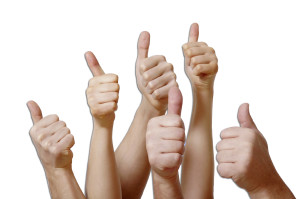thumbs-up copy